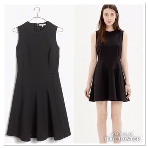 Madewell Anywhere dress fit and flare dress